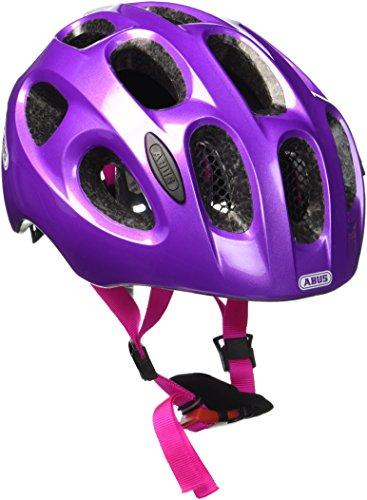 Abus Youn-I Fahrradhelm, Sparkling Purple, 52-57 cm