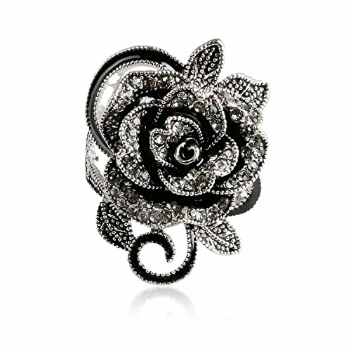 lincman-newest-womens-ladies-gothic-vintage-stainless-steel-big-rose-flower-band-ring