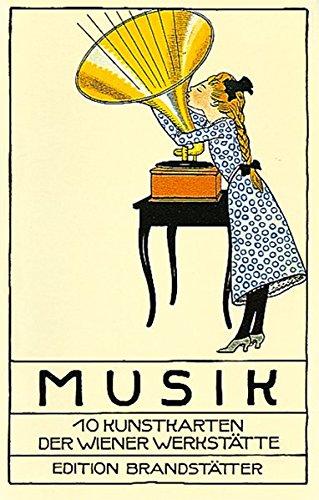 Musik: Ansichtskarten der Wiener Werkstätte von Moriz Jung et alii