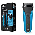 Braun Series 3 310s Wet And Dry Electric Shaver For MenRechargeable Electric Razor Blue