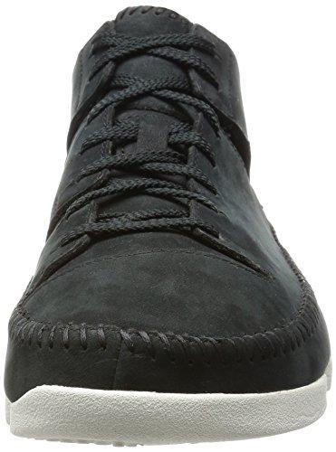Clarks Originals Trigenic Flex, Sneakers Basses Homme Noir (Black Nubuck)