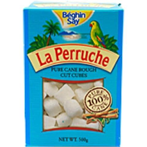 Un 500g La Perruche Rough Cut Blanca Cubos del azúcar