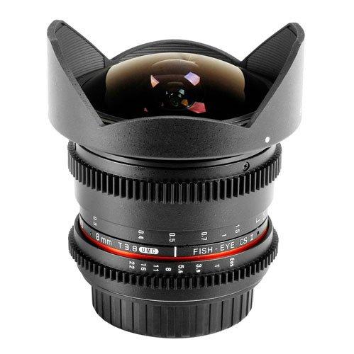 Obiettivo Samyang 8mm T3.8 Asph IF UMC Fisheye CS II VDSLR (Samsung NX)