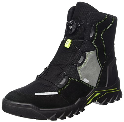 Ricosta Mens Levent Snow Boots Nero