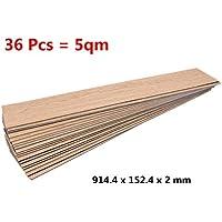 kertou 36unidades superficie de suelos placas suelo suelo de PVC placas laminado, cubierta de PVC 5m²