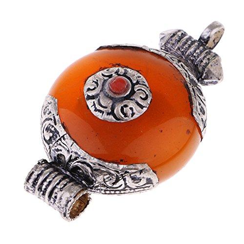 MagiDeal Handgemachte Nepal Buddhistischer Anhänger für Halskette Schmuck