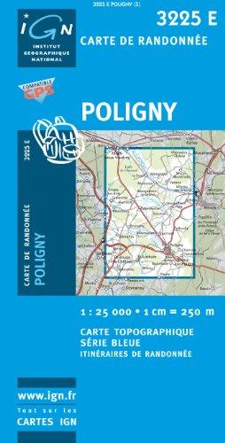 Poligny GPS: IGN3225E