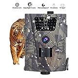 Caméra de Chasse HD 720P 8MP Joyhero 2018 Nouvelle Version Caméra de Surveillance Imperméable à l'eau 30 IR LED Capteur Automatique du Mouvement avec la Vision Nocturne pour le Suivi des Animaux