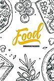 Ernährungstagebuch: Ernährungsplaner mit Einkaufsliste - 1 Jahr - Essensplaner zum Eintragen mit Softcover - Diättagebuch - ca. A5