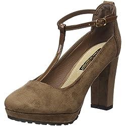 XTI Damen Zapato Sra. Antelina Combinada Stöckelschuh, Taupe, 41 EU