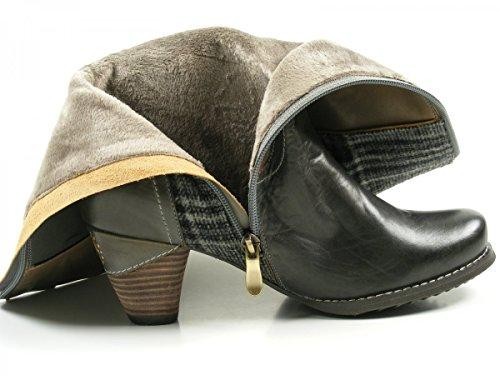 Manitu970704 - Stivali alti con imbottitura leggera Donna Braun