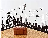 Wandaufkleber home nordic einfache moderne wandaufkleber europäischen kreative wohnzimmer hintergrund wanddekorationen selbstklebende malerei rahmen, breite 230 * höhe 55 cm