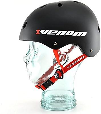 Venom Pro Skate casco - negro