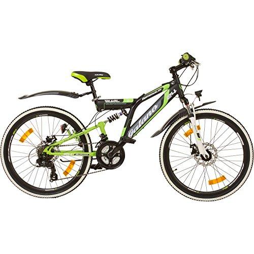 Galano 24 Zoll MTB Fully Adrenalin DS Mountainbike STVZO Jugendfahrrad