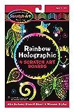 Melissa & Doug Rainbow Holographic Scratch Art Boards, Multi Color