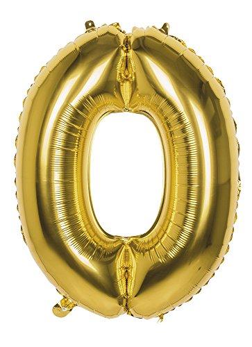 Globo de números XXL para fiesta de cumpleaños, aniversarios, fin de curso, decoración para fiesta