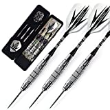 CUESOUL Archer 20 Gramm Steel Dartpfeile Set - Nickle Pflanz Messing Barrles ARCH-F1301