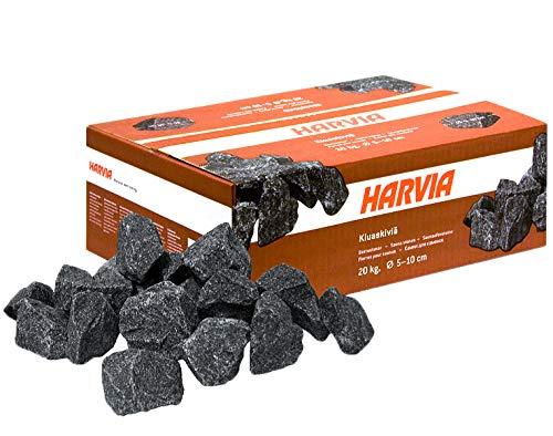 Harvia Saunasteine 20 kg 5-10 cm Ofensteine Steine für Saunaofen Elektroofen