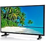 Xoro HTL 2447 60 cm (24 Zoll) LED Fernseher (integrierter HD Triple Tuner DVB-S2/T2/C, H.265/HEVC-Decoder, CI+ Schacht, USB 2.0 Mediaplayer) schwarz