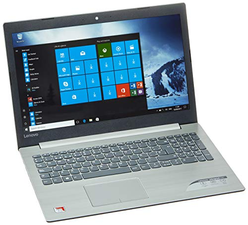 Lenovo Ideapad 320-15AST - Ordenador portátil 15.6' FullHD (AMD A9-9420, 8GB de RAM, 256GB de SSD, Windows 10 Home) plateado - Teclado QWERTY español [España]
