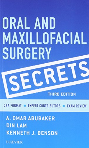 Oral and Maxillofacial Surgery Secrets, 3e