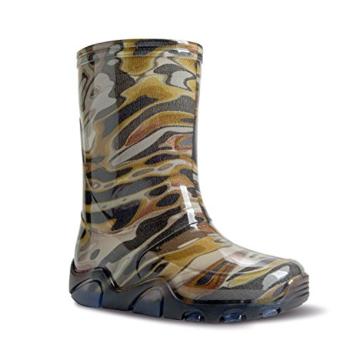 """Demar, children's colourful """"Stormer"""" wellies with many motifs"""