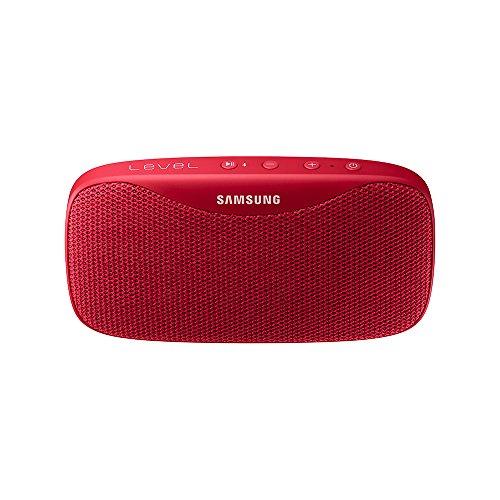 Samsung EO-SG930 Stereo Rot - Tragbare Lautsprecher (2.0 Kanäle, Kabellos, Bluetooth, Micro-USB, Stereo Portable Speaker, Rot)