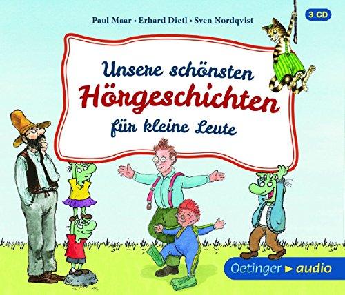Preisvergleich Produktbild Unsere schönsten Hörgeschichten (NA) (3CD): Ungekürzte Lesung,  Hörspiele,  128 min. Unsere schönsten Hörgeschichten für kleine Leute (NA) (3CD)