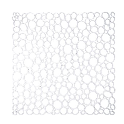 #koziol Raumteiler  Oxygen,  Kunststoff, transparent klar,  0.3 x 27 x 27 cm#