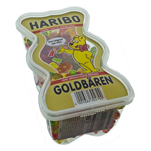 German Haribo Gold Bears Fruit Gel - 1 x 450 g