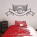 Pegatina Promotion Wasserballtor mit Banner 60cm Autoaufkleber,Wandtattoo, Aufkleber, Waschanlagenfest, Profi-Qualität, Decal,Sticker