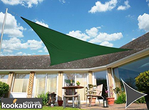 Kookaburra Voile D'ombrage Deperlant 3m Triangle Vert