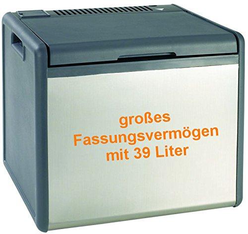 Kühlbox mit 39L. Fassungsvermögen, großer Kühlbehälter, auch mit Gas zu betreiben (Druck 50mbar)