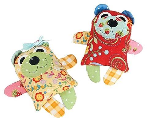 Sizzix Bigz L Die - Maggie & Quincy (Small Bear) by Jennifer Jangles, (Maggie Nero)