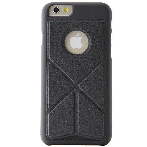 """BELK Étui rigide, Shield Coque, transformateur slim avec clip ceinture et pied pliant pour iPhone 6(11,9cm), plastique, noir - noir, iPhone 6 Plus(5.5"""") noir - noir"""