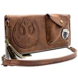 The Last Jedi Star Wars Rey's cartella spazzino Portafoglio Marrone