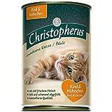 Christopherus Cat Adult Rind & Huhn | 6x 400g Nassfutter für Katzen