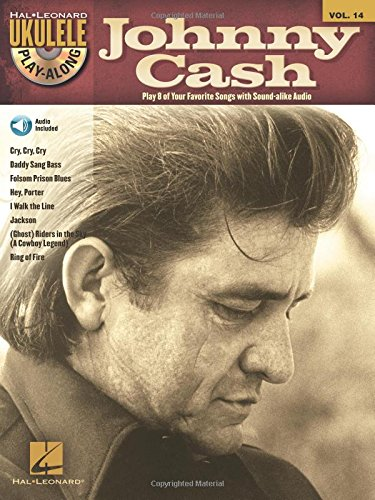 Johnny Cash [With CD (Audio)] (Hal Leonard Ukulele Play-along, Band 14)