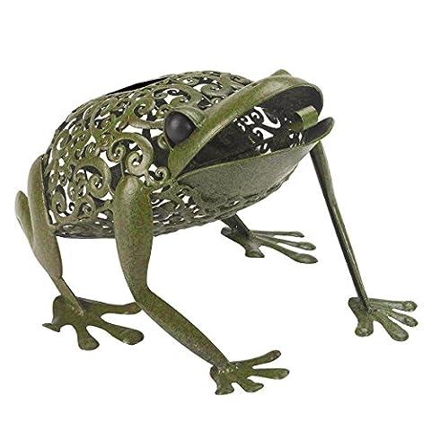 Smart Solar Silhouette Frog
