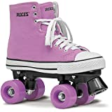 Roces Unisex Chuck Fitness Quad Rollschuhe Sneaker Stil Farbe Choices 550030, damen, rosa/weiß