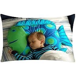 artistic9(TM) Original creativo funda de almohada cute Animal modelado Cafe sofá cojín funda de almohada de niños, A, 30X50cm