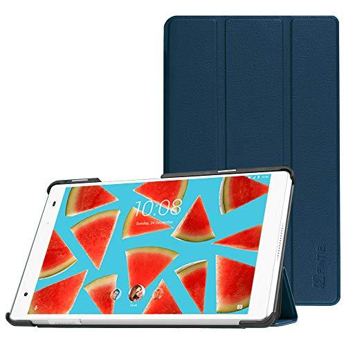 Fintie Hülle für Lenovo Tab 4 8 Plus - Ultradünne Schutzhülle Tasche mit Auto Schlaf/Wach Funktion für Lenovo Tab 4 Plus 8 Zoll Tablet 2017 (Nicht geeignet für Lenovo Tab4 8), Marineblau (8 Samsung Tablet 4 Zoll Tab Tasche)