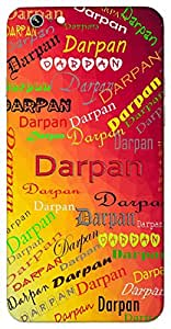 Darpan (Mirror) Name & Sign Printed All over customize & Personalized!! Protective back cover for your Smart Phone : Sony Xperia T-3