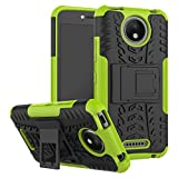 FoneExpert® Motorola Moto C Plus Handy Tasche, Hülle Abdeckung Cover schutzhülle Tough Strong Rugged Shock Proof Heavy Duty Case Für Motorola Moto C Plus