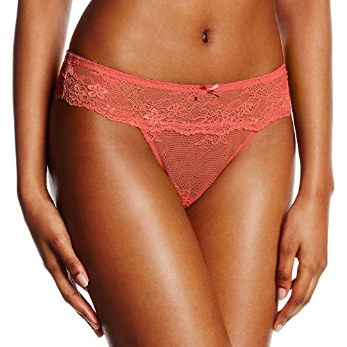 LingaDore Daily Lace String Slip Donna Orange (Coral 11)