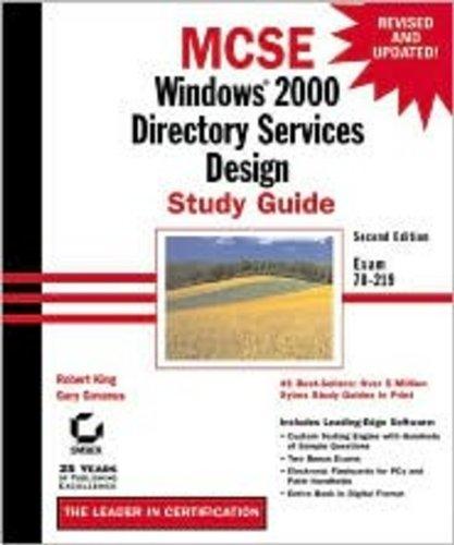 MCSE: Windows 2000 Directory Services Design Study Guide (MCSE study guide) por Gary Govanus
