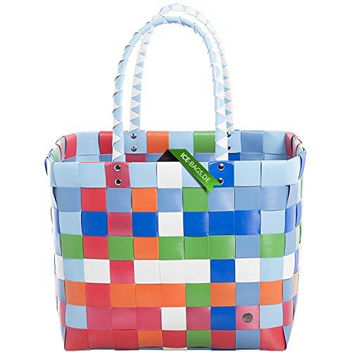 ice-bag-shopper-classico-5010-87-tasche-barzelletta-gall-cestini-perfetta-per-fare-la-spesa-blu-grig
