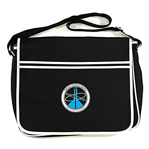 MOONRAKER: DRAX INDUSTRIES Retro Messenger Bag (One Size Fits All/Black)