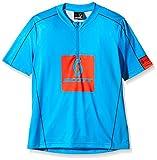 Scott Jungen Trikot Shirt JR Trail 20 Short Sleeve, Diva Blue/Tangerine Orange, 128, 2388354659040