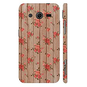 Enthopia Designer Hardshell Case Roses are red Back Cover for Samsung Galaxy Core 2
